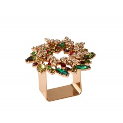 Gem Wreath Napkin Ring