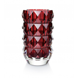 Louxor Round Vase Medium Red