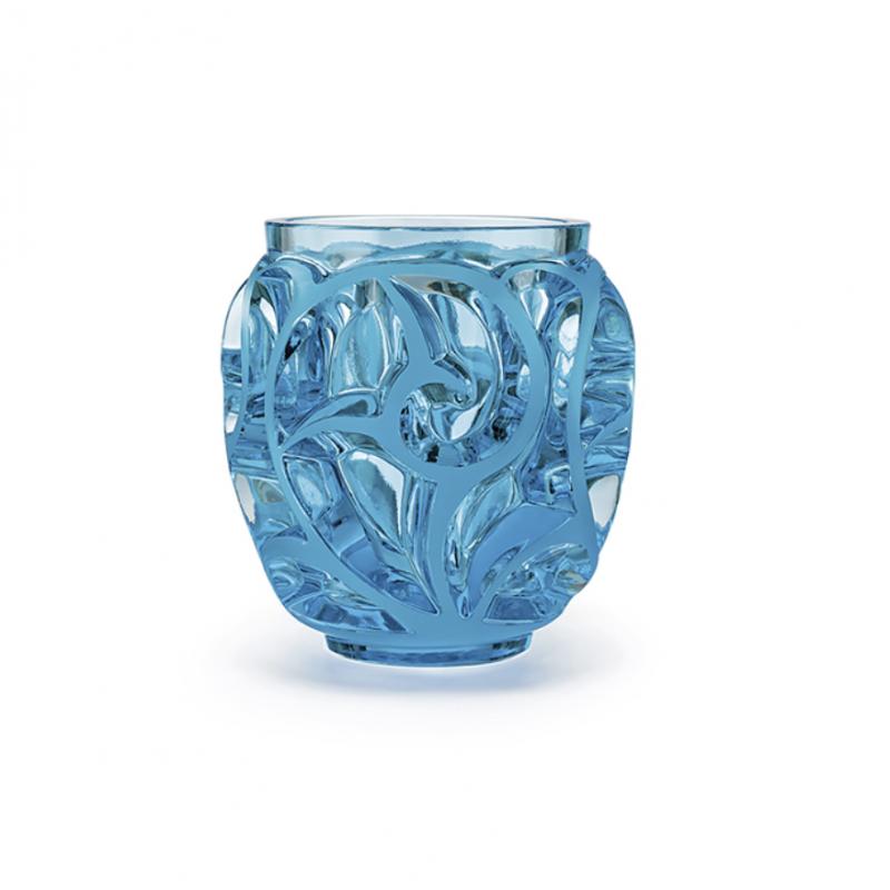 Tourbillons Vase Small Light Blue