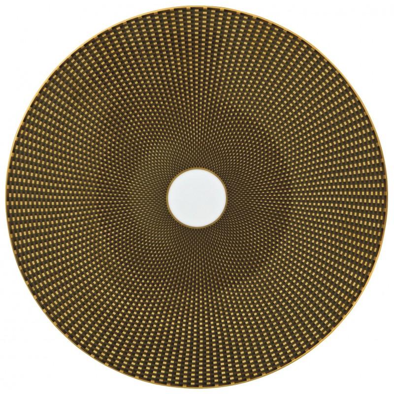 Trésor Coupe Plate Flat Brown