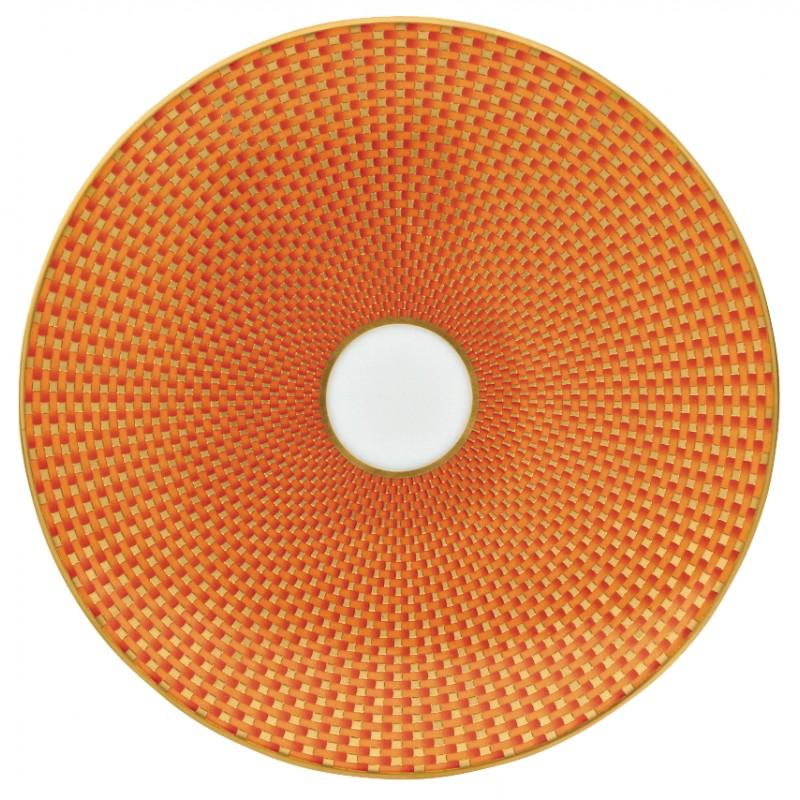 Trésor Orange Assiette Plate