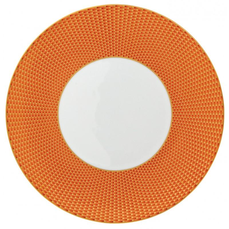 Trésor Orange Assiette Plate 27 cm