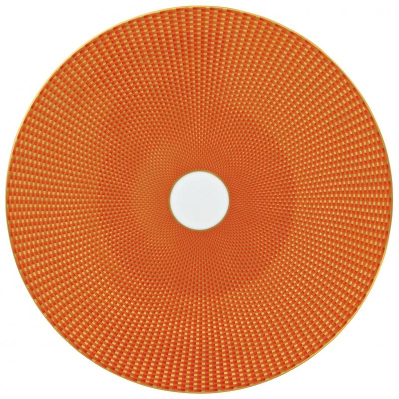 Trésor Orange Assiette Plate 32 cm