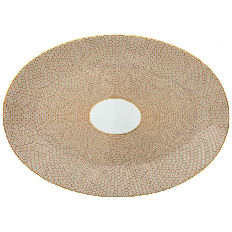 Trésor Oval Platter Orange