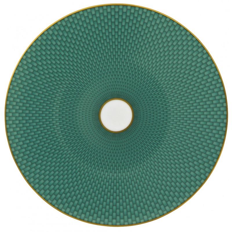 Trésor Turquoise Assiette Plate Coupe 22 cm