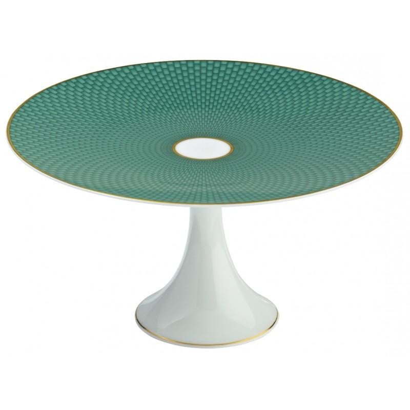 Trésor Turquoise Plat à Mignardises 22 cm