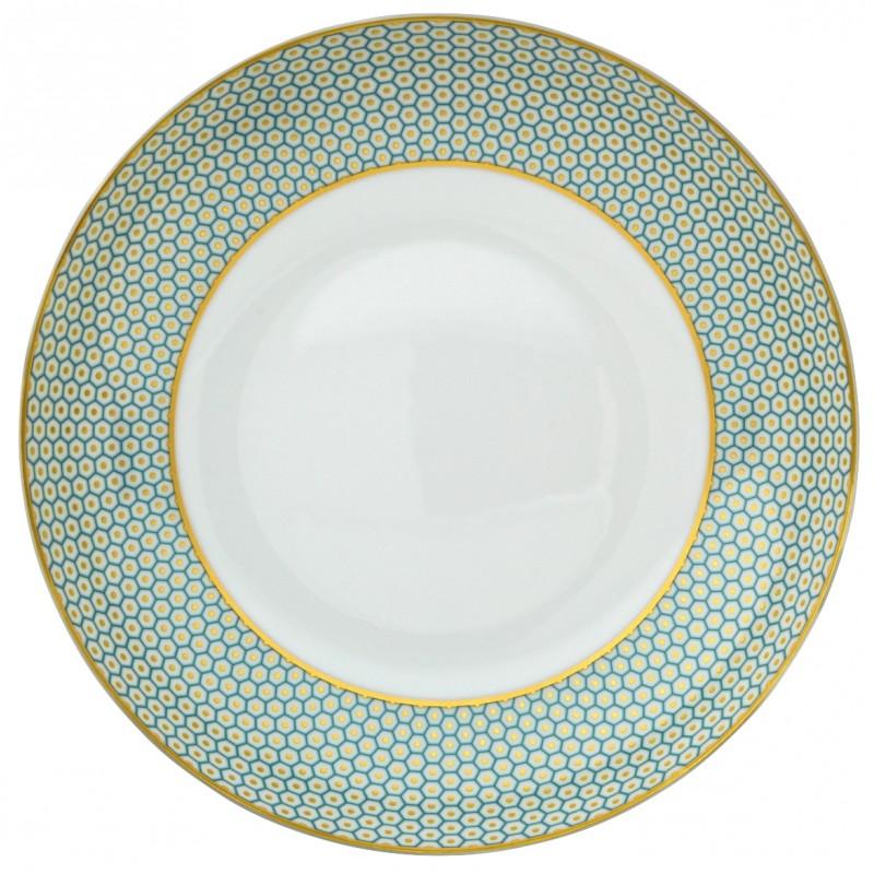 Trésor Turquoise Assiette Creuse Coupe 22 cm