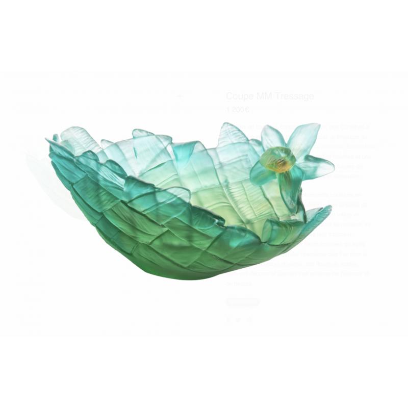 Tressage Bowl Medium Size Green