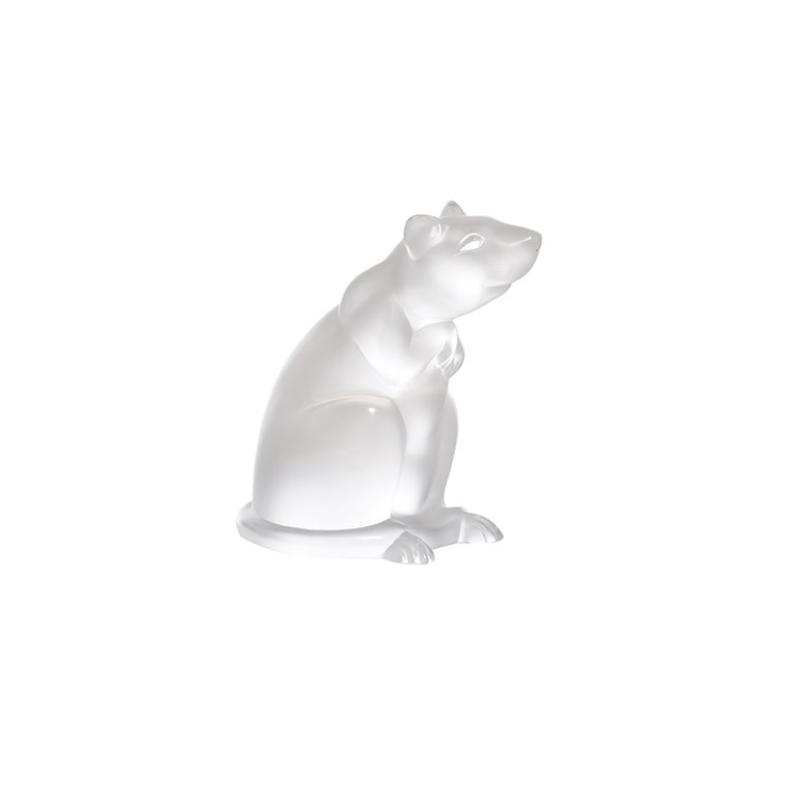 Rat Sculpture Clear