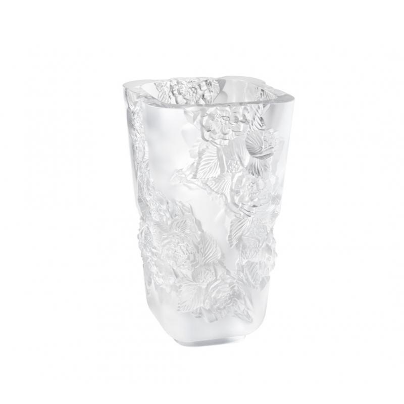 Pivoines Vase Clear Large Size