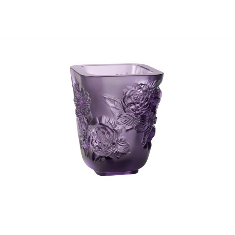 Pivoines Vase Purple Small Size