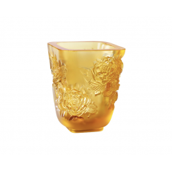 Pivoines Vase Amber Small Size