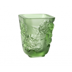 Pivoines Vase Green Small Size