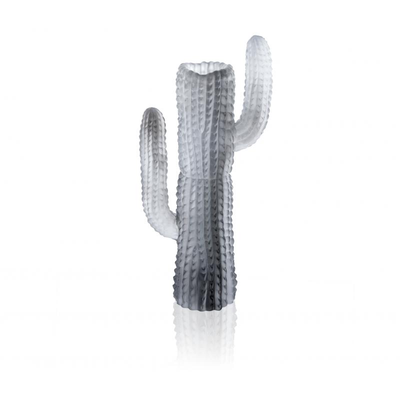 Jardin de Cactus Grey Vase by Emilio Robba