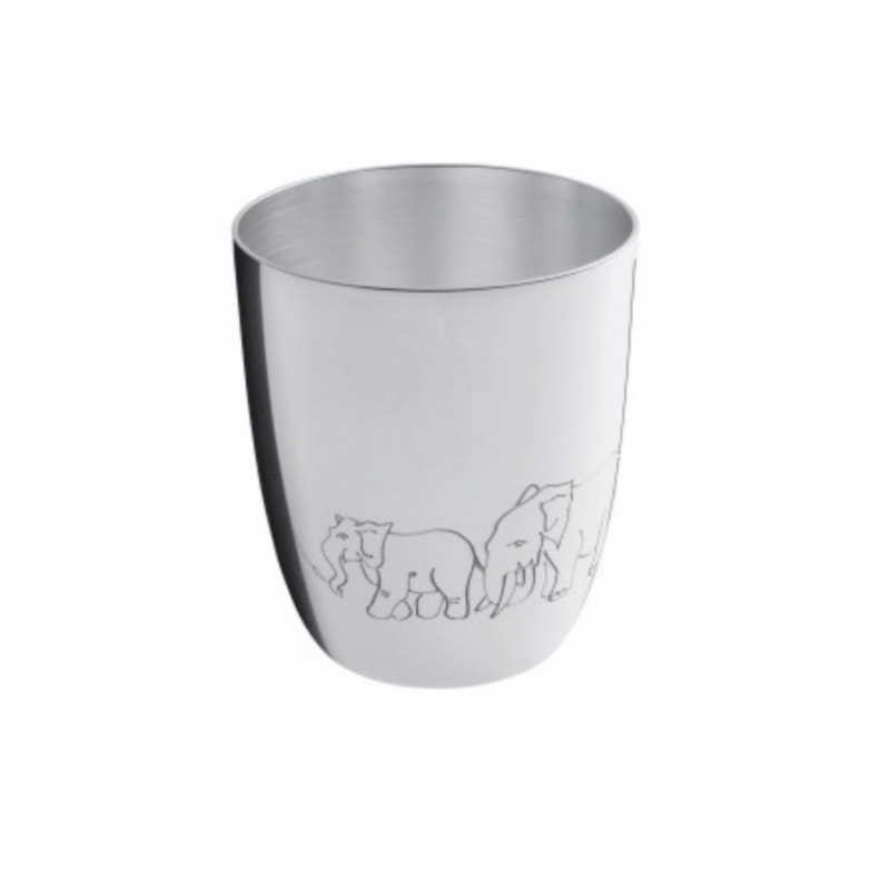 Pingoins Silver-Plated Baby Cup