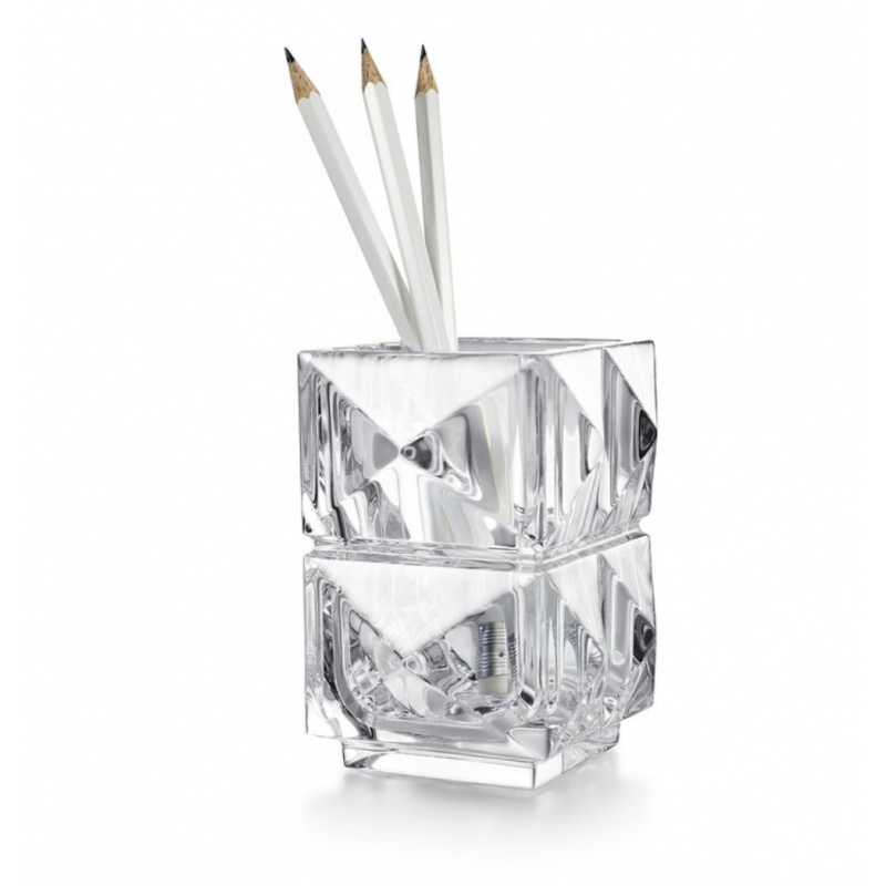 Louxor Pencil Holder by Thomas Bastide Clear