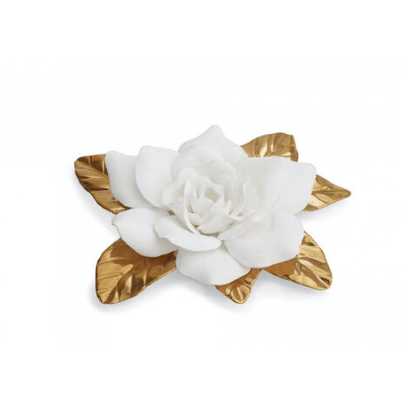 Porcelain Gilded Gardenia