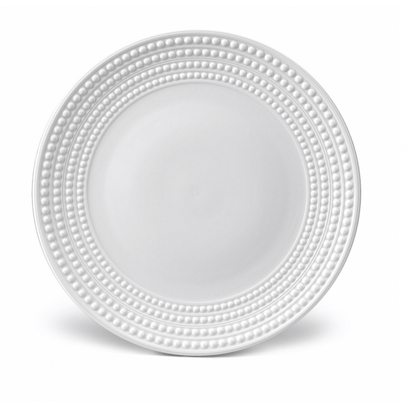 Perlée White Charger Plate