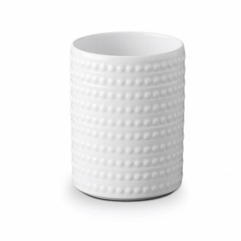 Perlée White Vase Small