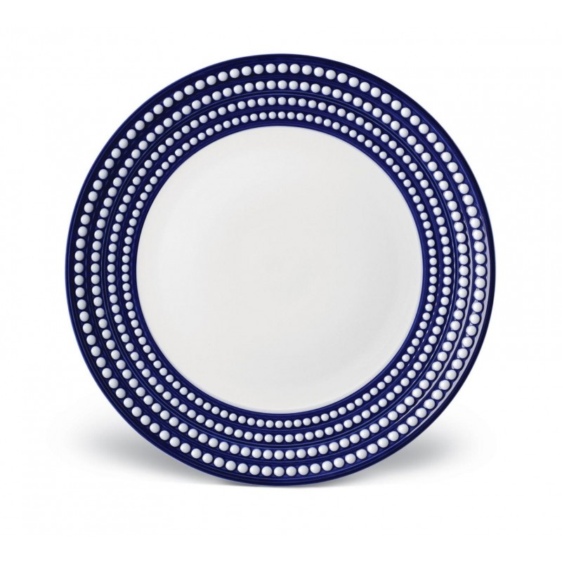Perlée Blue Charger Plate