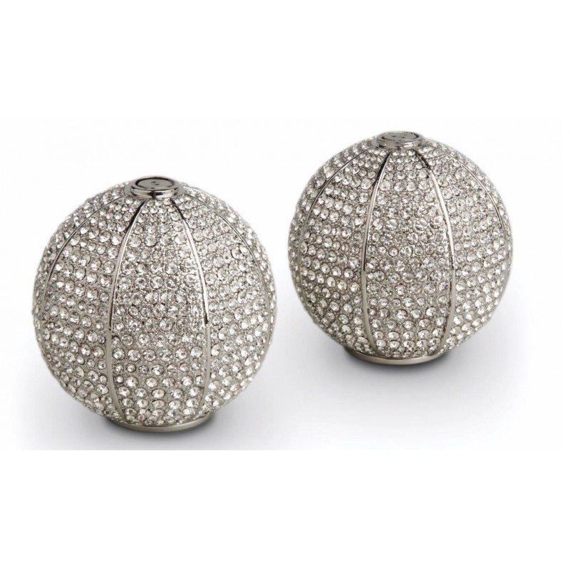 Pave Sphere Spice Jewels Platinum
