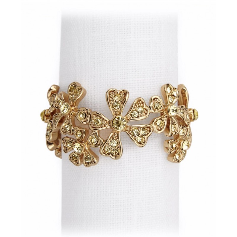 Garland Napkin Jewels Gold - Set of 4