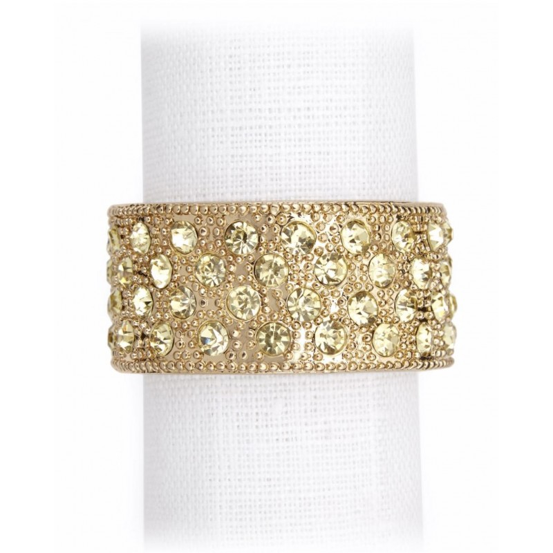 Pave Band Napkin Jewels...