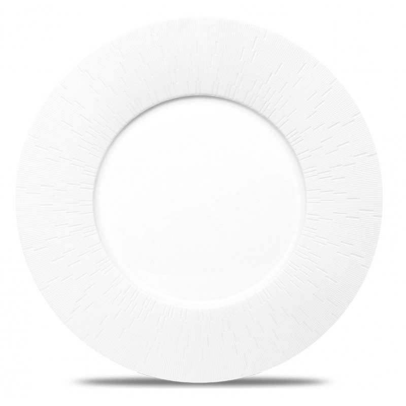 Infini Presentation Plate White