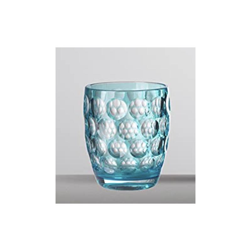Lente Basso Glass Turquoise