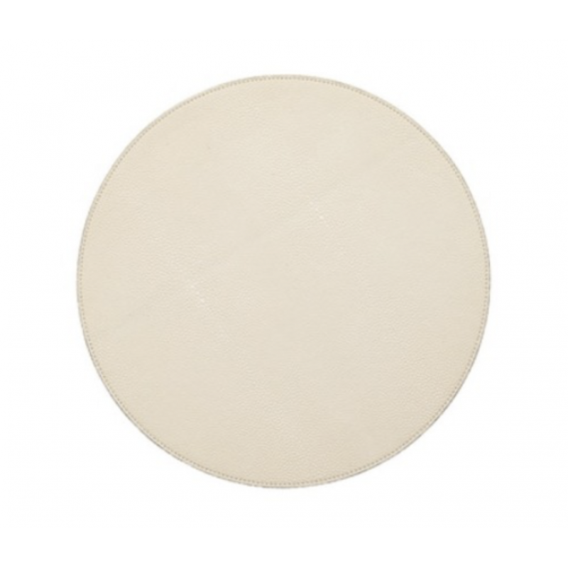Shagreen Placemat Ivory