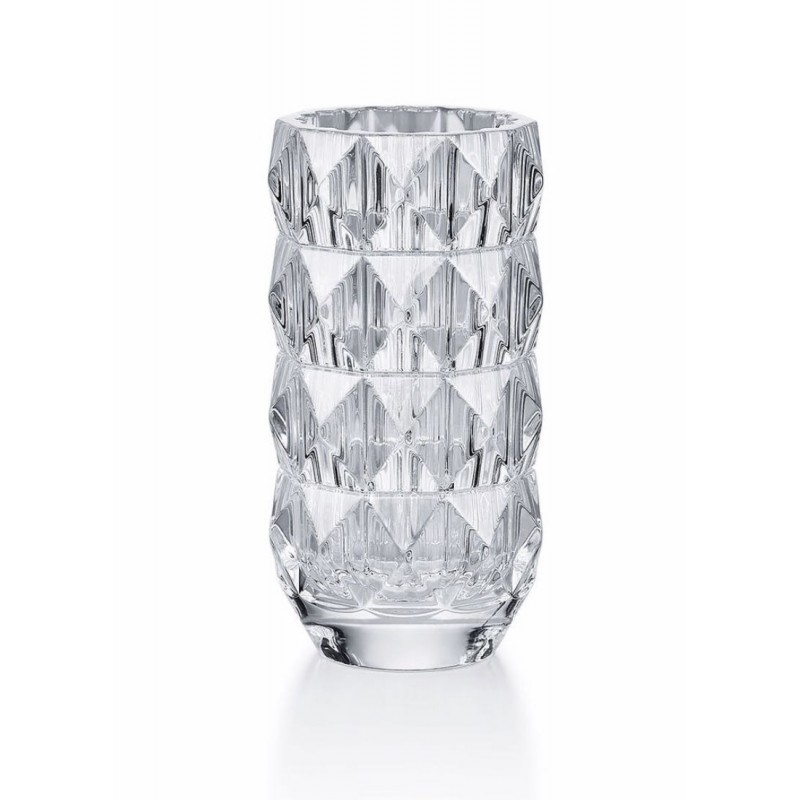 Louxor Vase Round Clear Small