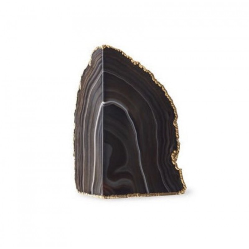 Agate Geode Black