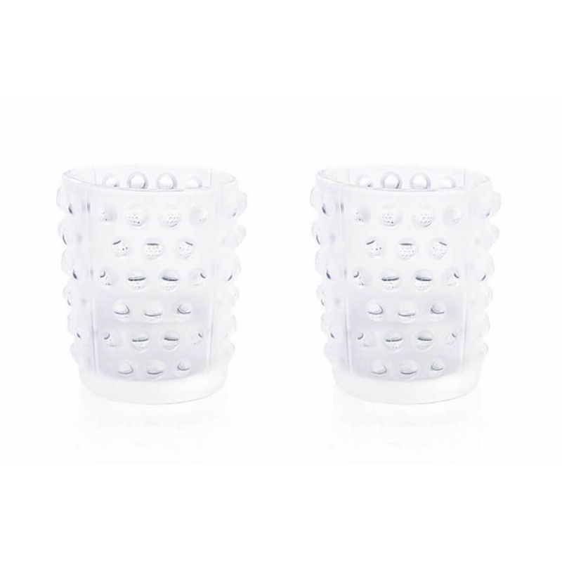 Set of 2 Mossi Votives Clear