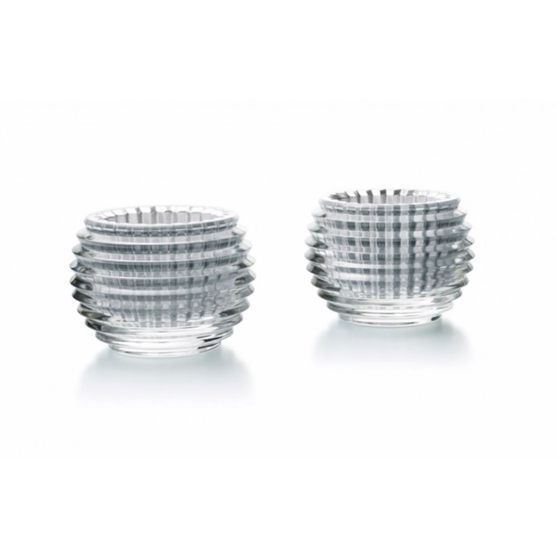 Eye Votives Silver - Set of 2