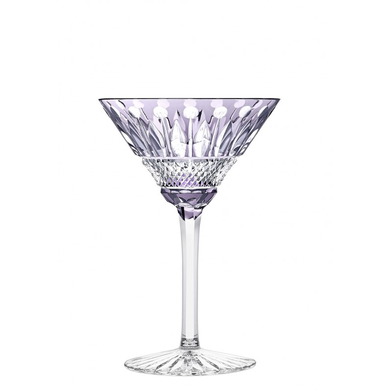 Tommy Cocktail Glass Purple