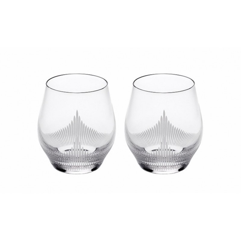 Set of 2 Tumbler Small Size Clear