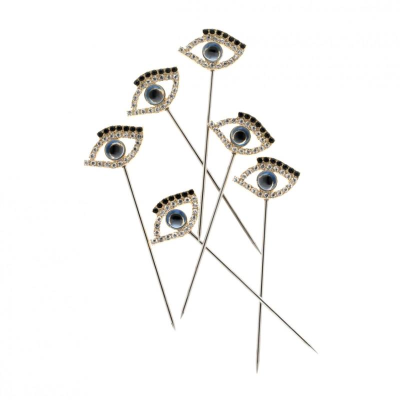 Evil Eye Cocktail Picks - Set of 6