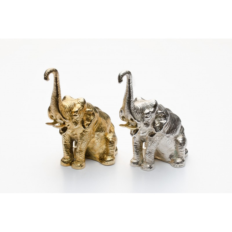 Elephant Salt & Pepper Set Black