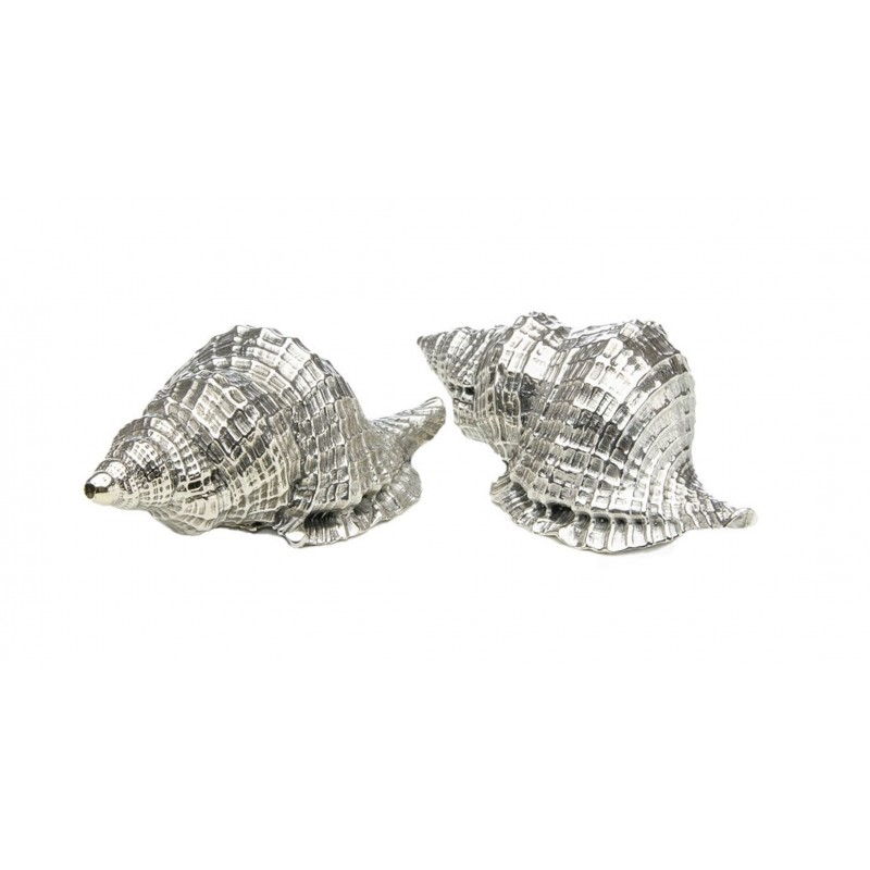 Clams Pair of Salt Shakers