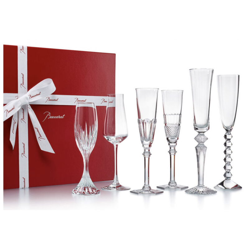 Bubble Box Champagne Glass - Set of 6