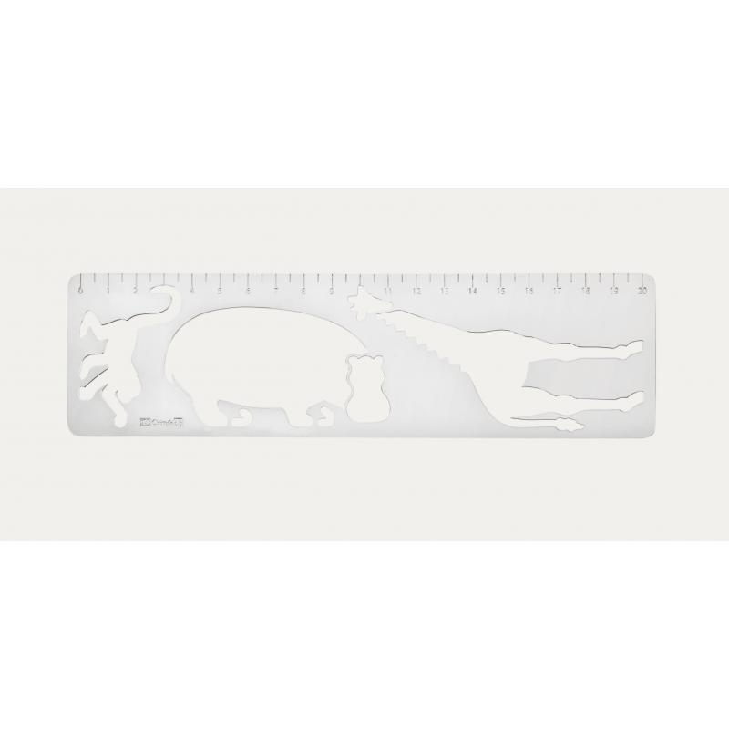Savane Silver-Plated Ruler