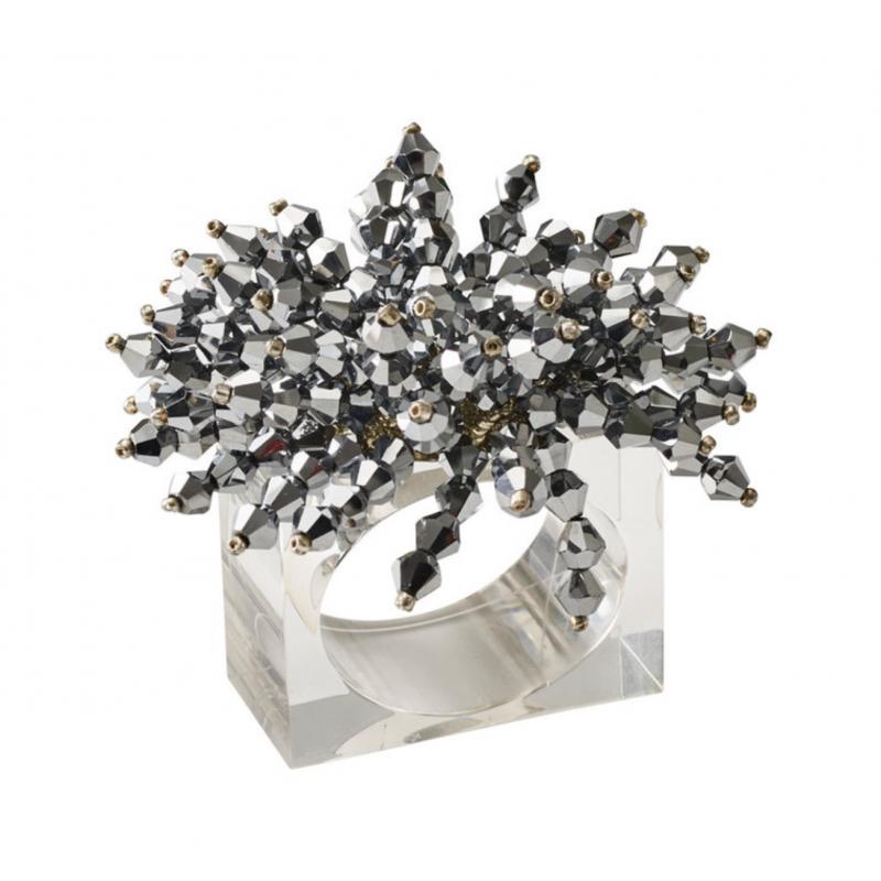 Brilliant Napkin Ring Silver