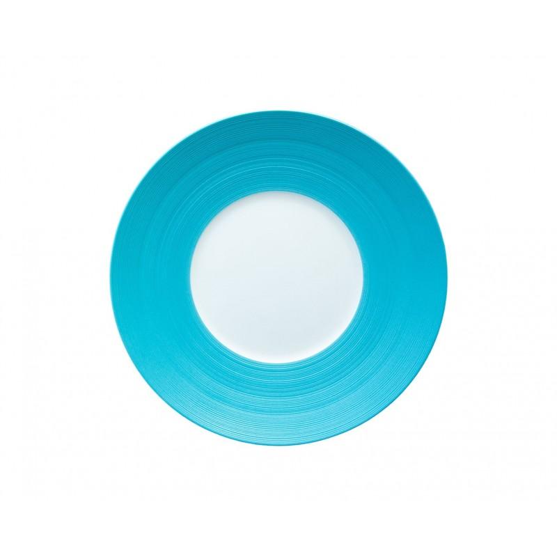 Hémisphère Turquoise Dessert Plate