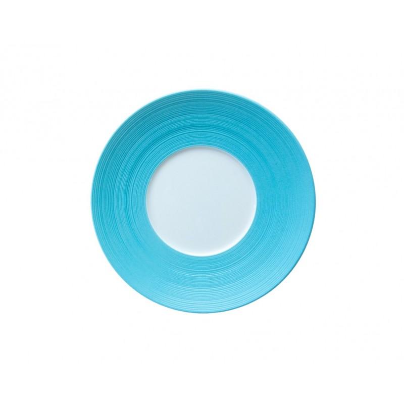Hémisphère Turquoise Bread Plate