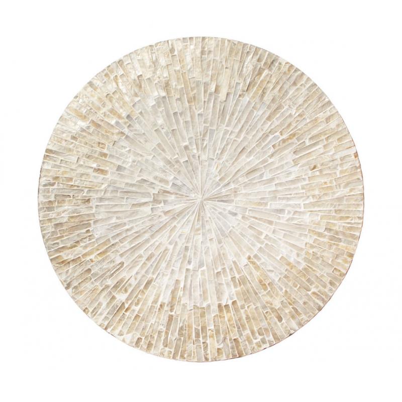 Byzantine Placemat Ivory Gold