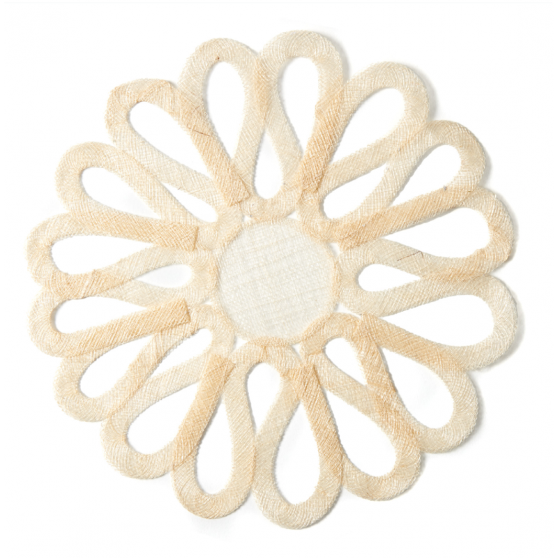 Sinamay Placemat Ivory/Natural
