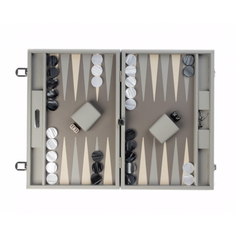 Backgammon Baptiste Large Size Perle Buffle