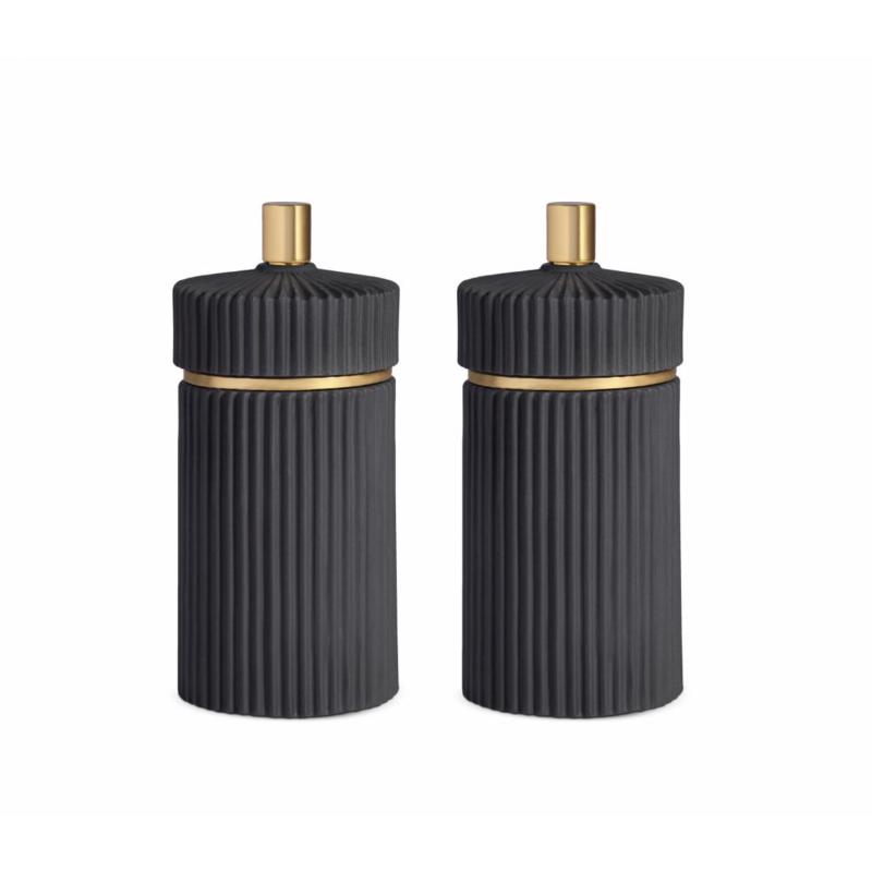 Set Peugeot Black Salt + Black Pepper Mill Small