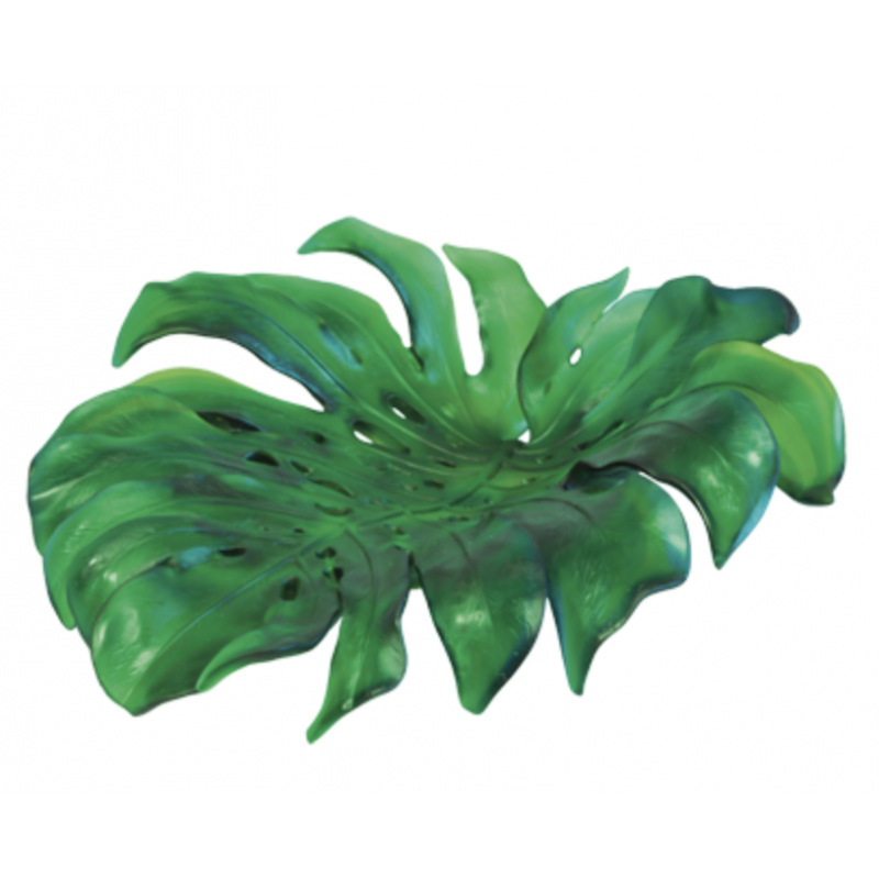 Monstera Medium Bowl Green by Emilio Robba