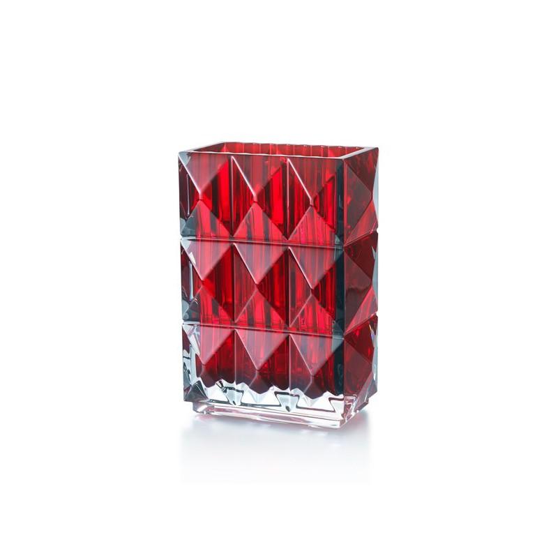 Louxor Vase Rouge Petit Modèle